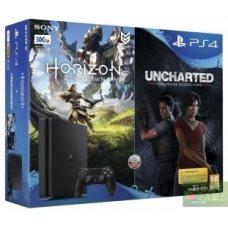 Sony PlayStation 4 Slim 500GB + Horizon: Zero Dawn + Uncharted: The Lost Legacy