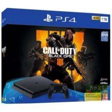 Sony PlayStation 4 Slim 1TB + Call of Duty: Black Ops 4