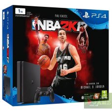 Sony PlayStation 4 Slim 1TB + NBA 2K17