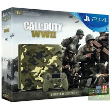 Sony PlayStation 4 Slim 1TB Limited Edition + Call of Duty: WWII