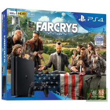 Sony PlayStation 4 Slim 500 GB + Far Cry 5