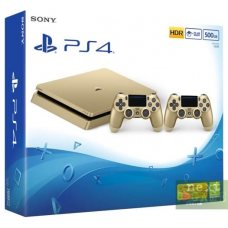 Sony PlayStation 4 Slim Gold 500GB + DualShock 4 Version 2