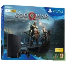 Sony PlayStation 4 Slim 1ТB + God of War IV