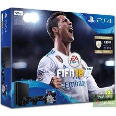 Sony PlayStation 4 Slim 500GB + DualShock 4 + FIFA 18