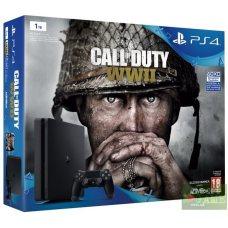 Sony PlayStation 4 Slim 1TB + Call of Duty: WWII