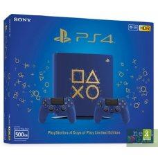 Sony PlayStation 4 Slim Days of Play 500GB + DualShock 4 Version 2