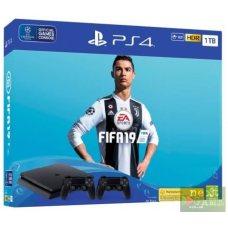 Sony PlayStation 4 Slim 1TB + DualShock 4 + FIFA 19