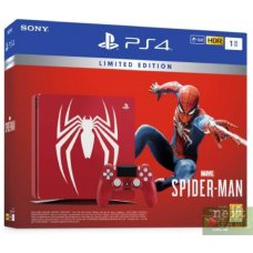 Sony PlayStation 4 Slim 1TB Limited Edition + Marvel Spider-Man