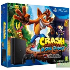 Sony PlayStation 4 Slim 500GB + Crash Bandicoot: The N Sane Trilogy