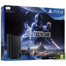 Sony PlayStation 4 Slim 1TB + Star Wars: Battlefront II