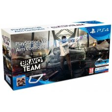 PS4 VR Aim Controller Bravo Team Bundle