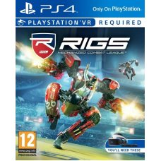 RIGS: Mechanized Combat League (PS4 VR) RUS