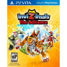 Invizimals: The Alliance (PS Vita) RUS
