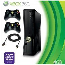 Xbox 360 Slim 4Gb LT+3.0 +дополнительный джойстик + HDMI