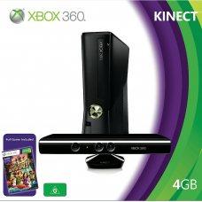 Xbox 360 Slim 4Gb LT+ 3.0 + Сенсор KINECT + Игра Kinect Adventures + HDMI