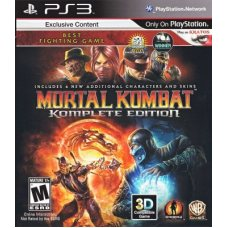 Mortal Kombat Komplete Edition (PS3) ENG