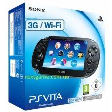 Sony PS Vita Wi-Fi + 3G + Карта Памяти 4Gb + Пленка + Чехол + USB кабель