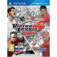 Virtua Tennis 4 Мировая Серия (PS Vita) RUS
