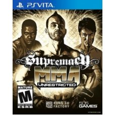 Supremacy MMA UNRESTRICTED (PS Vita) ENG