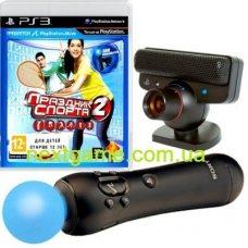 PlayStation Move Starter Pack + Игра Праздник Спорта 2  (PS3)