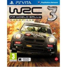 WRC 3 FIA World Rally Championship (PS Vita) ENG
