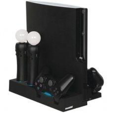 Зарядная станция-подставка DreamGear Power Stand (PS3)