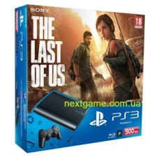 Sony Playstation 3 Super Slim 500Gb + Одни из нас ( The Last of Us)