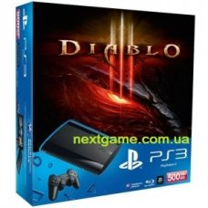 Sony Playstation 3 Super Slim 500Gb + Diablo III