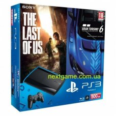 Sony Playstation 3 Super Slim 500Gb + Gran Turismo 6 + The Last of Us