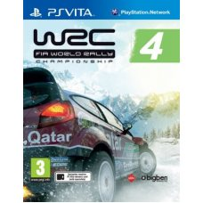 WRC: World Rally Championship 4 (PS Vita) ENG