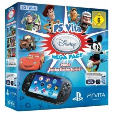 Sony PS Vita Wi-Fi + 3G + Карта Памяти 16Gb + 6 Игр Disney Mega Pack + Пленка + Чехол + USB кабель