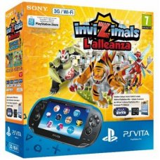 Sony PS Vita Wi-Fi + 3G + Карта Памяти 4Gb + Игра Invizimals: The Alliance + Пленка + Чехол + USB кабель