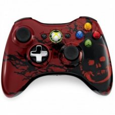 Джойстик беспроводной Wireless Controller Gears of War Limited Edition оригинал (XBOX 360)