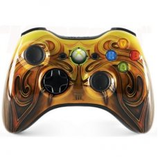 Джойстик беспроводной Wireless Controller Fable 3 Limited Edition оригинал (XBOX 360)