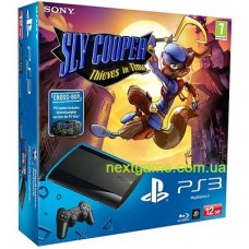 Sony Playstation 3 Super Slim 500Gb + Sly Cooper: Thieves in Time