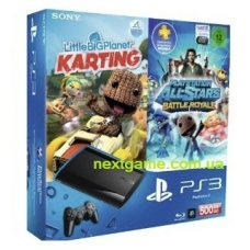 Sony Playstation 3 Super Slim 500Gb + LittleBigPlanet + PlayStation All-Stars: Battle Royale