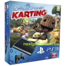 Sony Playstation 3 Super Slim 12Gb + LittleBigPlanet Karting