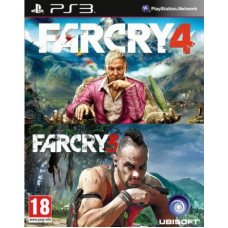 Far Cry 3 + Far Cry 4 (PS3) RUS