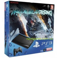 Sony Playstation 3 Super Slim 500Gb + Metal Gear Rising: Revengeance
