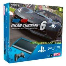 Sony Playstation 3 Super Slim 500Gb + Gran Turismo 6: Anniversary Edition