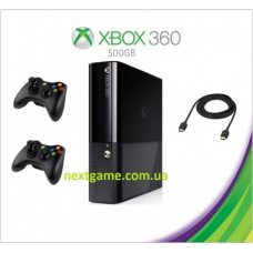 Xbox 360E Slim E 500Gb FREEBOOT + 120 Игр +дополнительный джойстик + HDMI