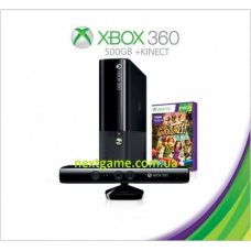 Xbox 360 Slim E 500Gb FREEBOOT + 120 Игр + Kinect + Игра Kinect Adventures + HDMI