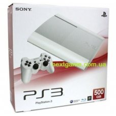 Sony Playstation 3 Super Slim White 500Gb