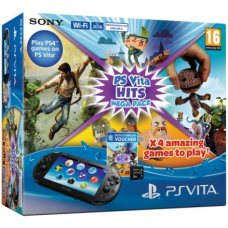 Sony PS Vita 2000 (Slim) + Карта Памяти 8Gb + 4 игры Hits Mega Pack