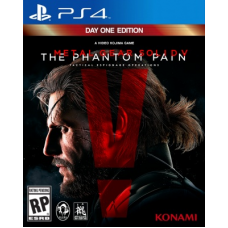 Metal Gear Solid 5(V): The Phantom Pain Day One Edition (PS4) RUS Sub.