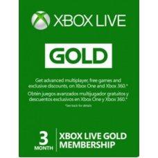 Xbox Live Gold 3 месяца