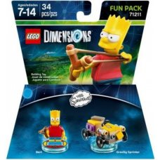 LEGO Dimensions: Simpsons Bart Fun Pack